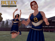 Christy cheerleader