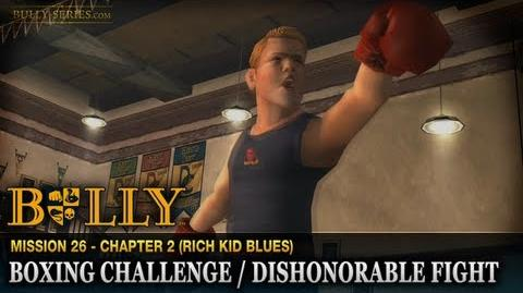 Boxing Challenge Dishonorable Fight - Mission 26 - Bully Scholarship Edition