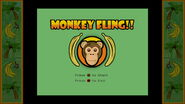 Monkey Fling Menu