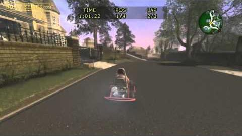 Go-Kart Street Race 1 - Bully
