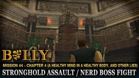Stronghold Assault Nerd Boss Fight - Mission 44 - Bully Scholarship Edition
