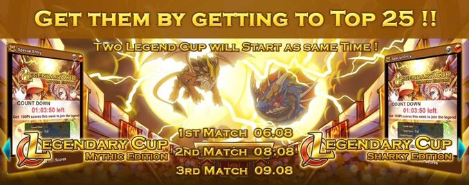 Read - Legendary Cup- Mythic & Sharky Edition