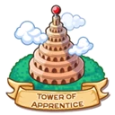 Location tower of apprentice icon