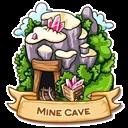 Location mine cave icon