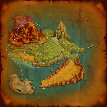 Bulu Island Full Map