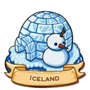 Location iceland icon