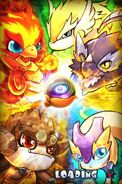 Baby Dragons wallpaper
