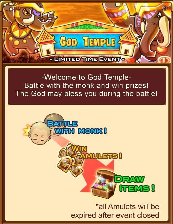 """""""God Temple"""" event rules"""