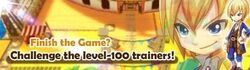 Challenge the level-100 trainers event banner