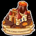 Location volcano kingdom icon
