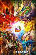 Adult Dragons wallpaper