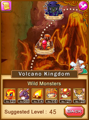 Location-volcano kingdom