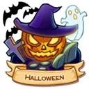 Location halloween icon