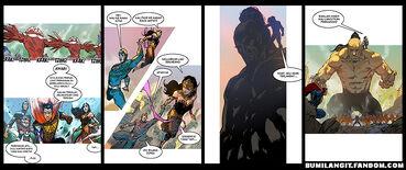 Komik Setrip Bumilangit Revolusi Saga 2