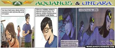 Komik Setrip Aquanus Dan Untara
