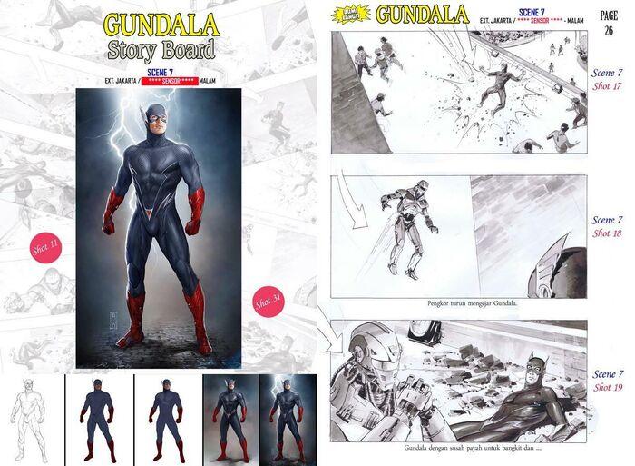 Story Board Gundala 2016