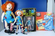 Molly Coddle Dolls with book