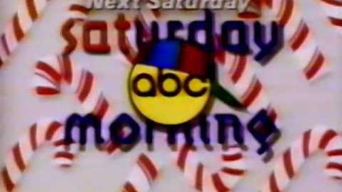 Promo - ABC Saturday Morning - T'was the Week Before Christmas (1994) ABC
