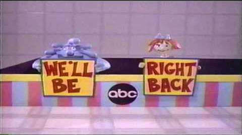 "ABC Saturday Morning Cartoons ""We'll Be Right Back"" Bumper Compilation"