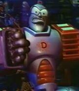 Destructo robot bump in the night