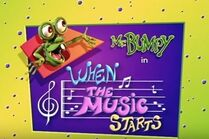 When the music starts title