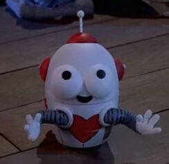 Little robot character
