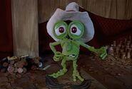 Cowboy bumpy in a big heap of trouble