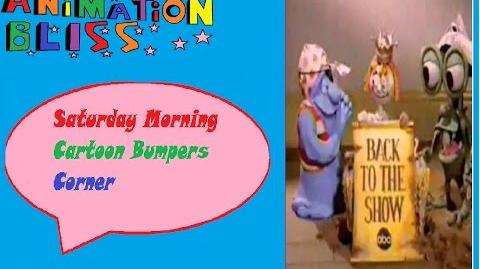 Saturday Morning Cartoon Bumpers Corner Episode 3 Bump in the Night Bumpers (1993)