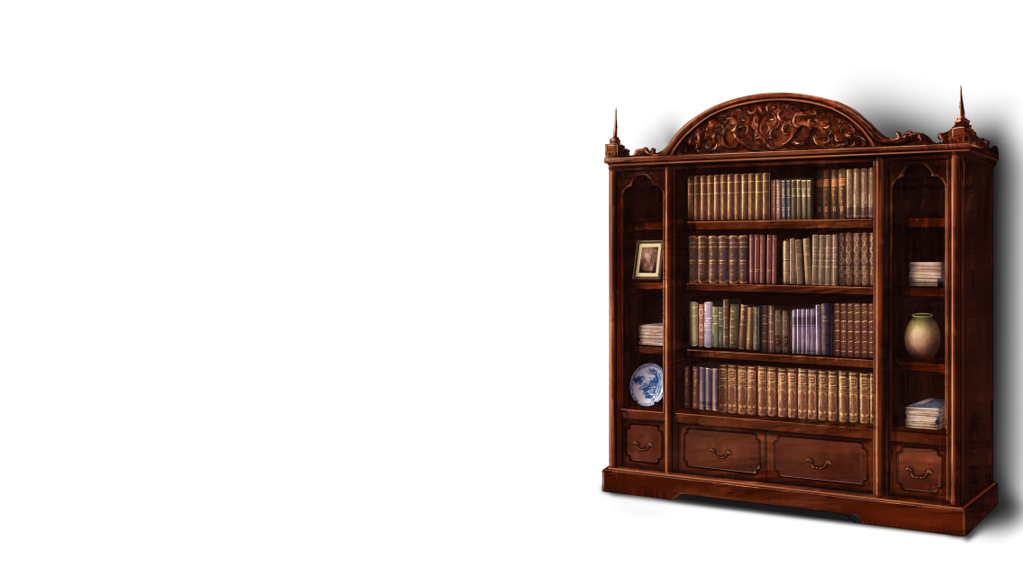 antique bookshelf models