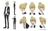 Ichiyo Higuchi Anime Character Design