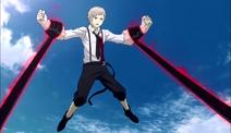 Atsushi caught by Akutagawa's Rashomon