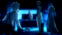 Rokuzo meeting Dazai, Atushi, and Kunikida