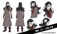Arthur Rimbaud Anime Character Design