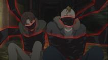 Pushkin restrained by Akutagawa