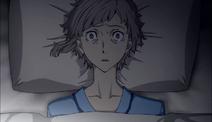 Atsushi waking up at the agency's infirmary