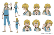 Kenji Miyazawa Anime Character Design