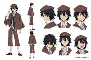 Ranpo Edogawa Anime Character Design