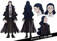 Howard Lovecraft Anime Character Design