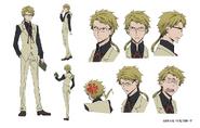 Doppo Kunikida Anime Character Design
