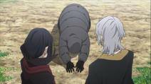 Pushkin apologizes to Mori and Fukuzawa