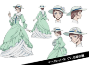 Margaret Mitchell Anime Character Design