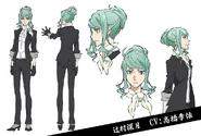 Mizuki Tsujimura Anime Character Design