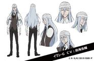 Ivan Goncharov Anime Character Design