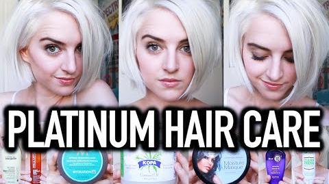 My Platinum Hair Care Routine- How To Maintain Bleach Blonde Hair Tessa Netting