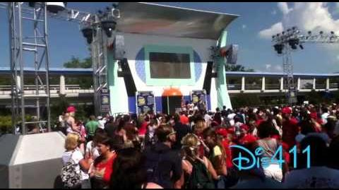 Peyton List, Skai Jackson & Karan Brar at Walt Disney World May 22, 2015