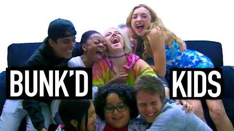The BUNK'D Disney Channel Kids