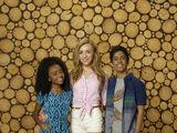 Emma, Ravi, and Zuri
