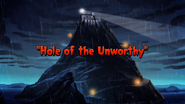 Hole of the Unworthy Title Card