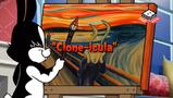 Clone-icula Title card