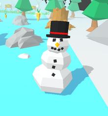 Snowman Bunny Skate